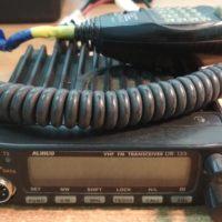 Продам автомобильную УКВ радиостанцию Alinco DR-135